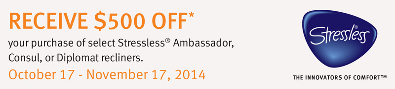 Innbo November Stressless Promotion